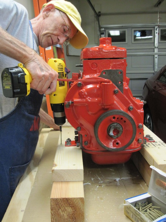 build a bench grinder stand