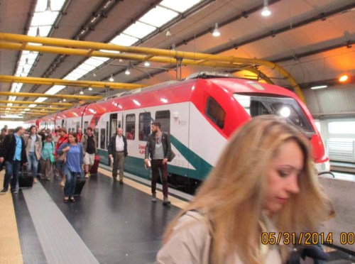 Rome airport train