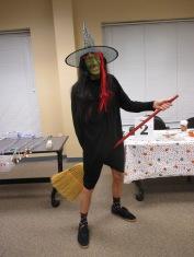 Idiotic Witch in Flight